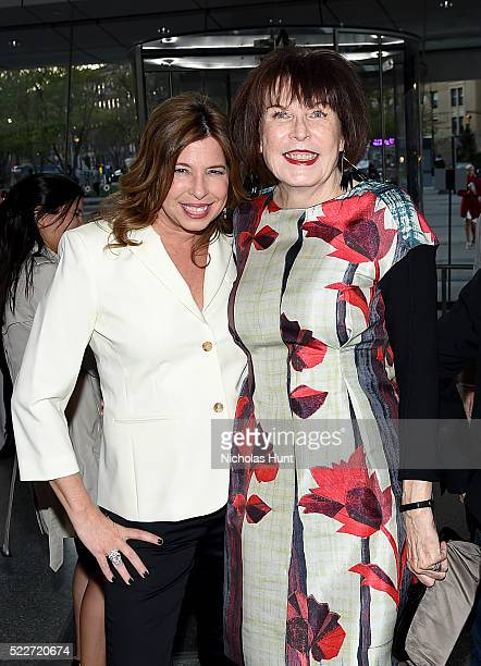 Director of the Brooklyn Museum Anne Pasternak and artist Marilyn Minter attend The 2016 Brooklyn Museum Artists Ball Honoring Stephanie and Tim...