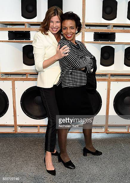 Director of the Brooklyn Museum Anne Pasternak and Council Member Laurie Cumbo attend The 2016 Brooklyn Museum Artists Ball Honoring Stephanie and...