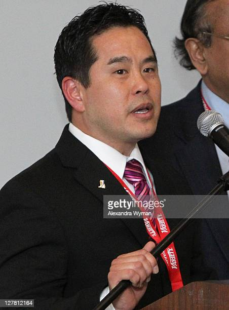 Director of the Center for Applied Research Pepperdine University Graziadio School of Business Management Mark Chun attends Variety's 2011 Hollywood...