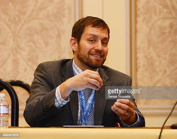 Director of the Center for Gaming Research UNLV David Schwartz speaks at the 'How Millennials are Shaping Casinos' panel at the 14th Annual Global...