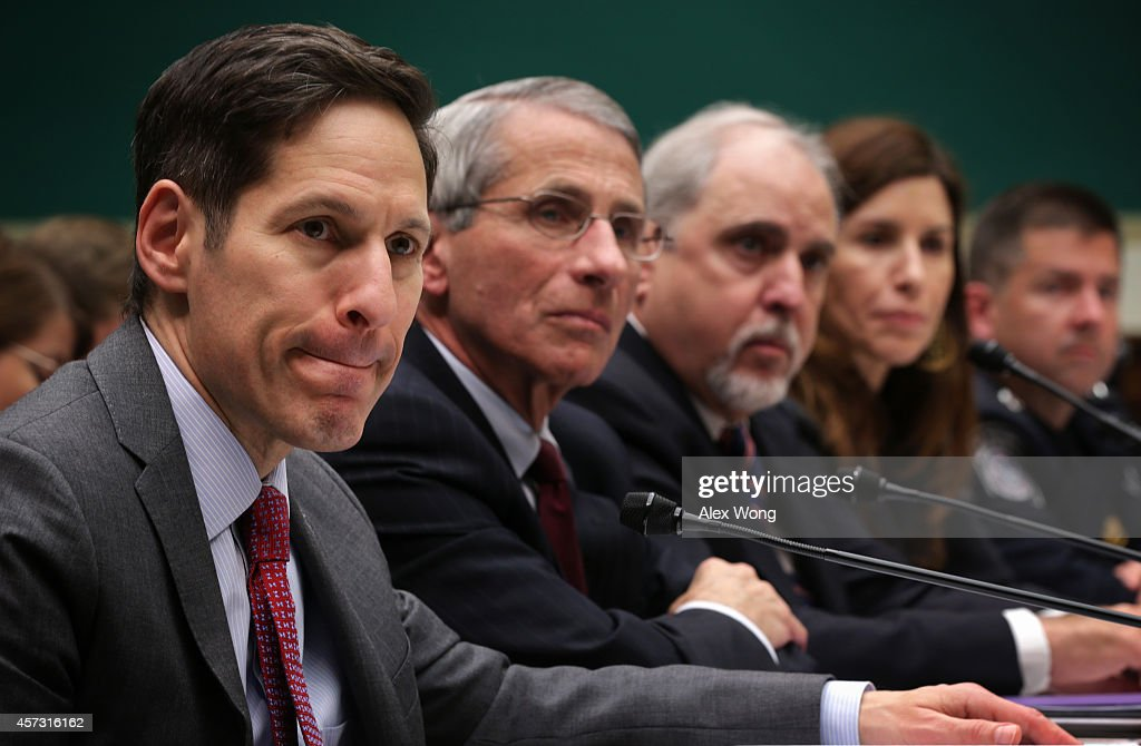 CDC Director Testifies At Special House Hearing On Ebola Outbreak : News Photo