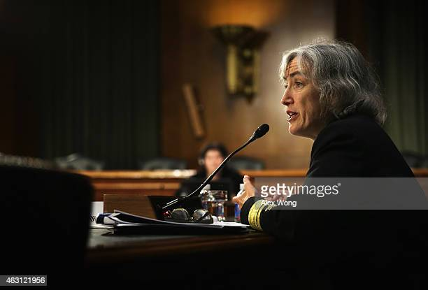Director of the Centers for Disease Control and Prevention's National Center for Immunization and Respiratory Diseases Anne Schuchat testifies during...