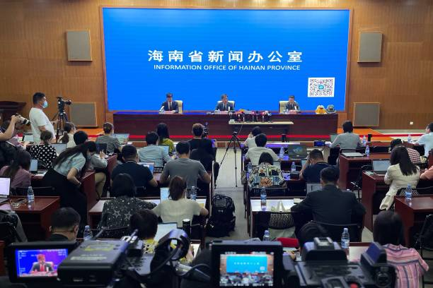 CHN: 1st China International Consumer Products Expo - Press Conference