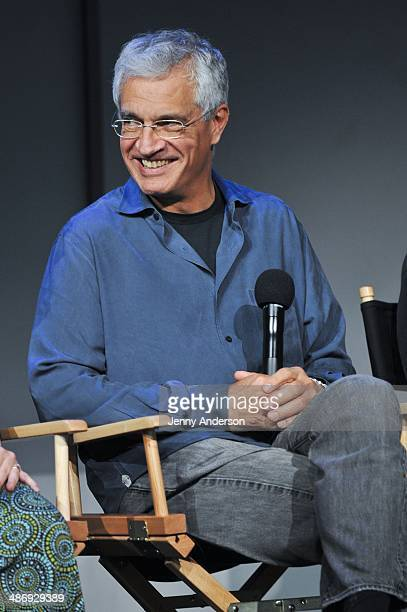 Director of the documentary 6 Louie Psihoyos visits the Apple Store Soho on April 26 2014 in New York City
