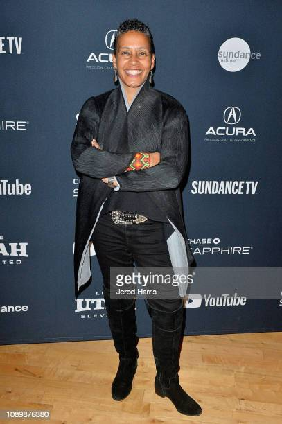Director of the Documentary Film Program at Sundance Institute Tabitha Jackson attends the Can Art Save Democracy Panel during the 2019 Sundance Film...
