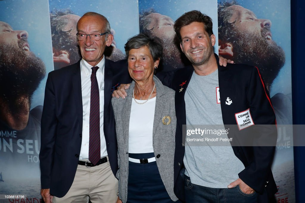 """Comme Un Seul Homme - As A Lonely Man"" Documentary Film Premiere In Paris : News Photo"