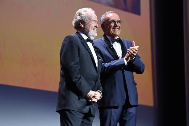 ITA: Cartier Glory To The Filmmaker Award Ceremony - The 78th Venice International Film Festival
