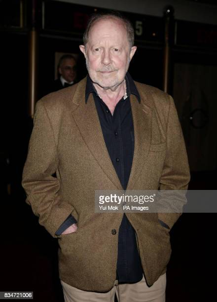 Director of the film Nicolas Roeg arrives for the premiere of 'Puffball' at The Empire in Leicester Square central London