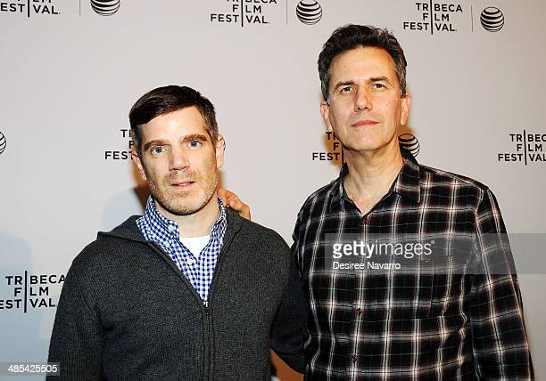 Director of the film 'One Year Lease' Brian Bolster and Anthony Sherin attend the Shorts Program City Limits during the 2014 Tribeca Film Festival at...