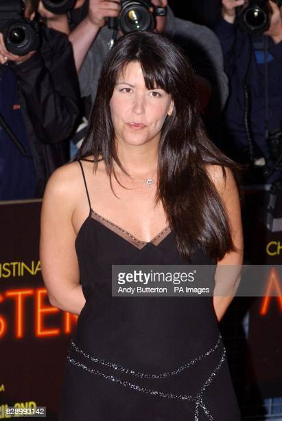 Director of the film Patty Jenkins arrives for the UK premiere of Monster at the Vue cinema in Leicester Square central London Monster tells the...