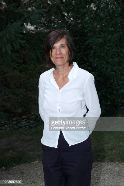 Director of the film 'Un amour impossible' Catherine Corsini attends the 11th Angouleme FrenchSpeaking Film Festival Day Six on August 26 2018 in...