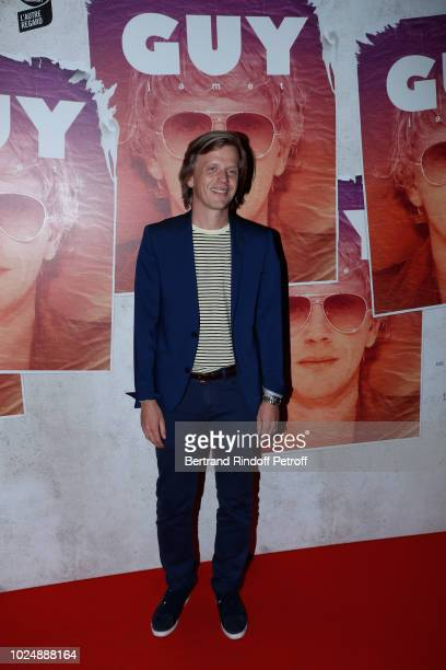 Director of the movie Alex Lutz attends the 'Guy' Paris Premiere at Gaumont Capucines on August 28 2018 in Paris France
