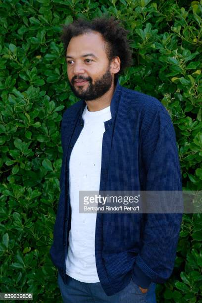 Director of the movie 'Coexister' Fabrice Eboue attends the 10th Angouleme FrenchSpeaking Film Festival Day Five on August 26 2017 in Angouleme France