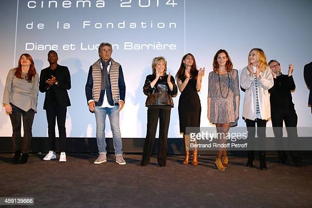 Director of the movie MarieCastille MentionSchaar actor Ahmed Drame CEO of Lucien Barriere Group Dominique Desseigne The Jury President Daniele...