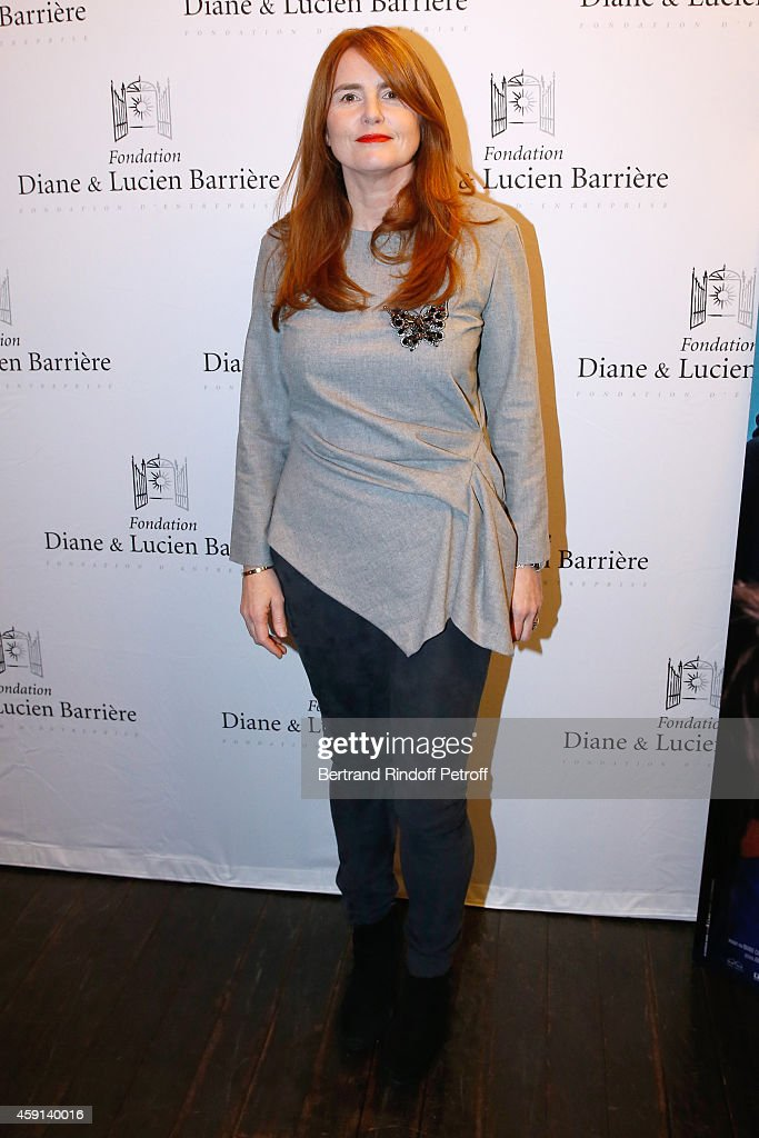 Director of the movie Marie-Castille Mention-Schaar attends 'Les Heritiers' receives Cinema Award 2014 of Foundation Diane & Lucien Barriere during the premiere of the movie at Publicis Champs Elysees on November 17, 2014 in Paris, France.