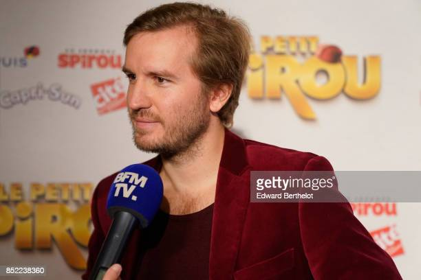 Director of the movie Nicolas Bary attends the 'Le Petit Spirou' Paris Premiere at Le Grand Rex on September 10 2017 in Paris France