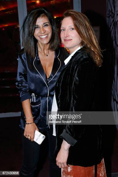 Director of the movie Reem Kherici and actress of the movie Julia Piaton attend the Jour J Paris movie Premiere on April 24 2017 in Paris France