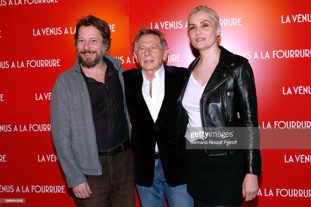 'La Venus A La Fourrure - Venus In Fur' Premiere At Cinema Gaumont Marignan