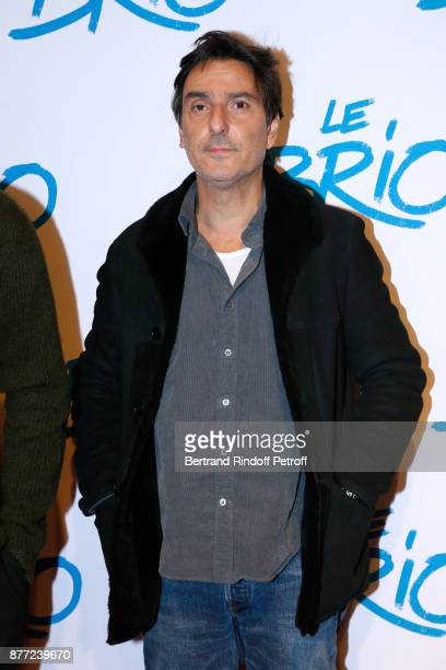 Director of the movie Yvan Attal attends the 'Le Brio' movie Premiere at Cinema Gaumont Opera Capucines on November 21 2017 in Paris France