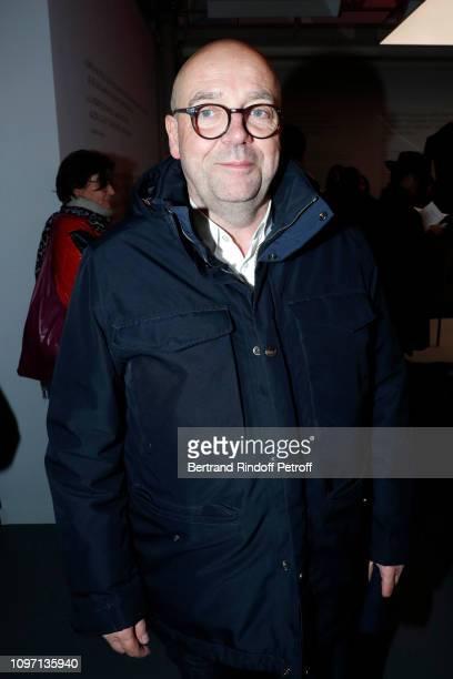 Director of the 'Musee d'Art Moderne de la Ville de Paris' Fabrice Hergott attends the Tribute To Azzedine Alaia as part of Paris Fashion Week on...