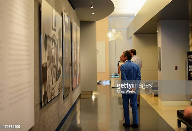 Director of the Museum of Contemporary Art Jeffrey Deitch attends the Helmut Newton opening night exhibit at Annenberg Space For Photography on June...