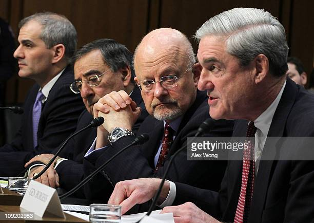 Director of the National Counterterrorism Center Michael Leiter CIA Director Leon Panetta Director of National Intelligence James Clapper and FBI...