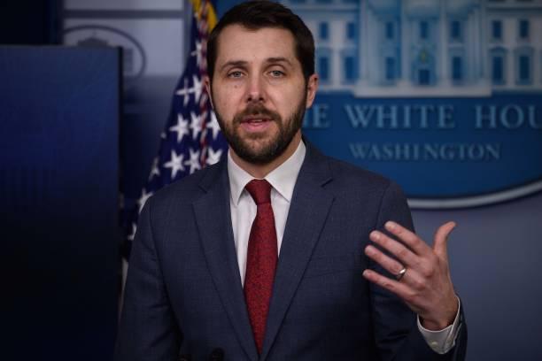 DC: Press Secretary Jen Psaki And National Economic Council Director Brian Deese Brief White House Press