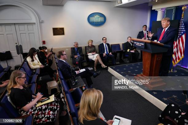 Director of the National Institute of Allergy and Infectious Diseases Anthony Fauci Response coordinator for White House Coronavirus Task Force...
