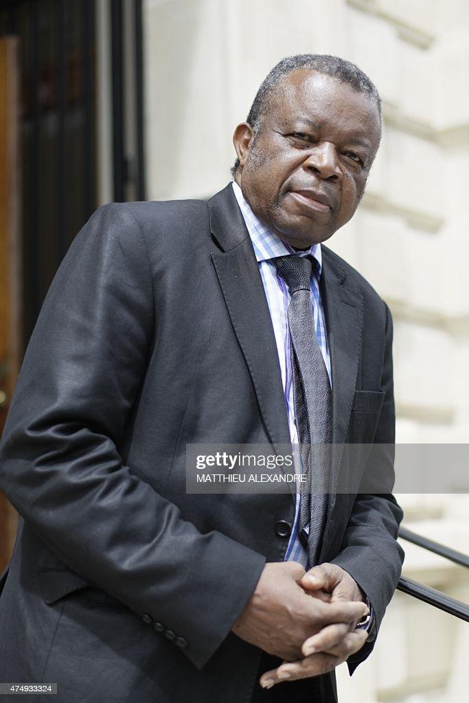 FRANCE-RDCONGO-EBOLA : News Photo