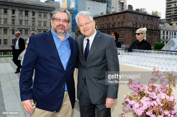 Director of the National Institute of Mental Health Dr Josh Gordon and President and CEO of the Brain and Behavior Resarch Foundation Dr Jeff...