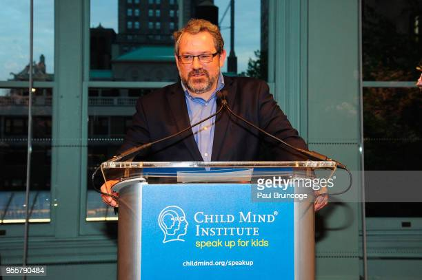 Director of the National Institute of Mental Health Dr Josh Gordon speaks onstage during the 2018 Change Maker Awards at Carnegie Hall on May 7 2018...