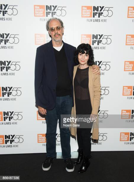 Director of the New York Film Festival Kent Jones and director Nancy Buirski attend the 'The Rape Of Recy Taylor' screening during the 55th New York...