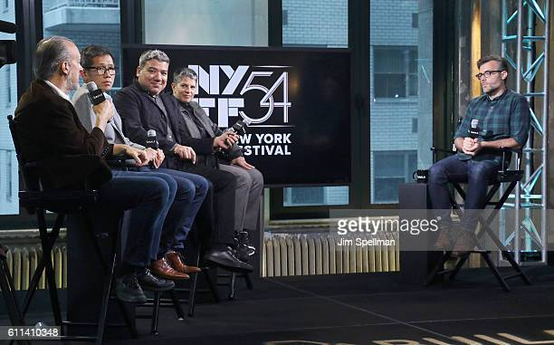 Director of The New York Film Festival Kent Jones director of programming Dennis Lim deputy director of FSLC Eugene Hernandez executive director of...