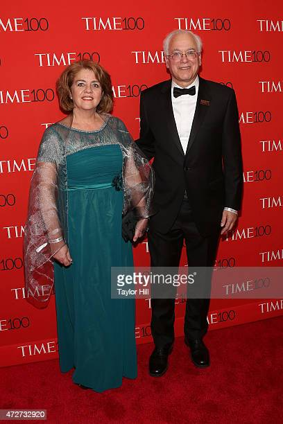 Director of the NYU Human Microbiome Program Dr Martin J Blaser and his wife attend the 2015 Time 100 Gala at Frederick P Rose Hall Jazz at Lincoln...