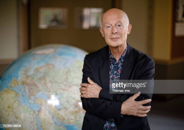 Director of the Potsdam Institute for Climate Impact Research Hans Joachim 'John' Schellnhuber poses for a photo on August 28 2018 in Berlin Germany
