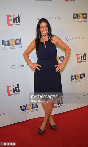 Director of the Rudy Foundation Cheryl Ruettiger arrives at the 20th anniversary celebration of the film Rudy at the Brenden Theatres inside the...