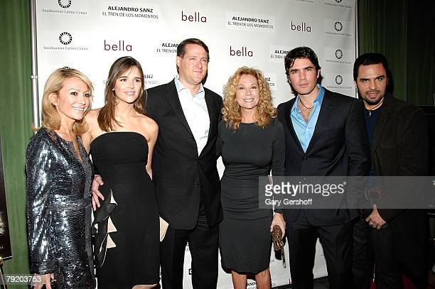 Director of The Smithsonion Latino Center Pilar O'Leary producer Ana Wolfington producer Sean Wolfington actress/singer Kathie Lee Gifford...