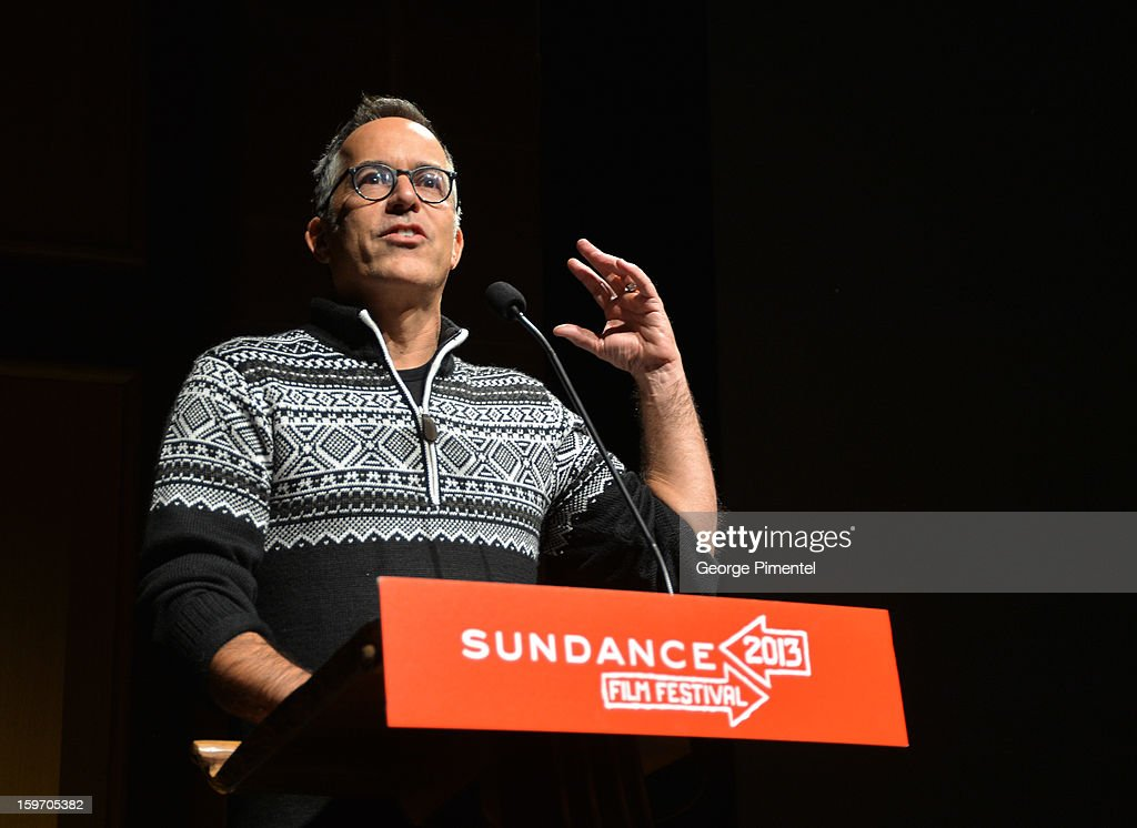 Director of the Sundance Film Festival John Cooper speaks onstage during the 'Two Mothers' Premiere during the 2013 Sundance Film Festival at Eccles Center Theatre on January 18, 2013 in Park City, Utah.