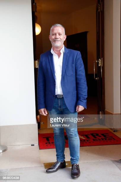 Director of the Theatre de la Tour Eiffel JeanMichel Mingasson attends 'La Bataille du Rire' TV Show at Theatre de la Tour Eiffel on June 25 2018 in...