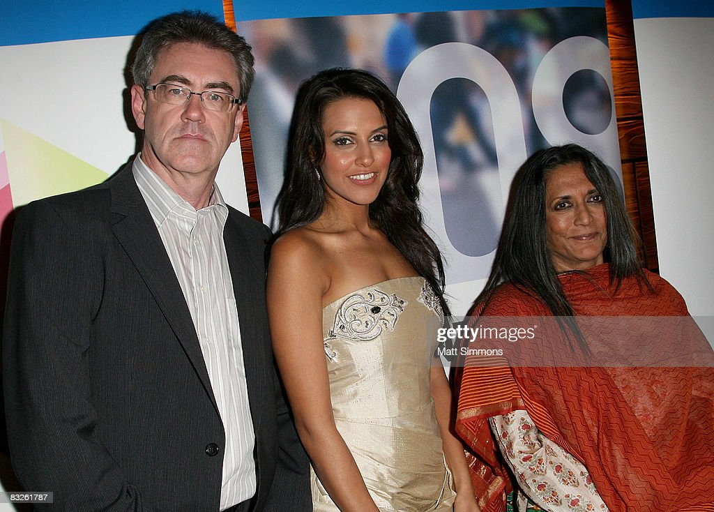 Director of the Toronto International Film Festival Piers Handling Actress Neha Dhupia and Director Deepa Mehta attend the Salute To Indian Cinema...