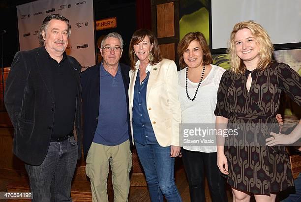 Director of the Tribeca Film Festival Geoffrey Gilmore cofounder Robert De Niro cofounder Jane Rosenthal Director of Programming Genna Terranova and...
