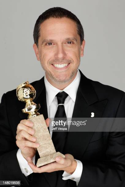 Director of Toy Story 3 Lee Unkrich poses for a portrait backstage after receiving an award at the 68th Annual Golden Globe Awards held at The...