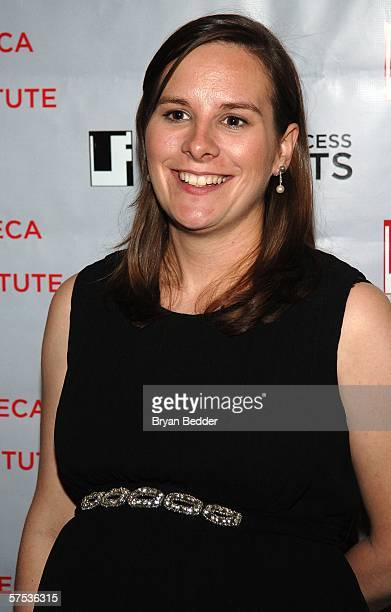 Director of Tribeca All Access Beth Janson attends the TAA Closing Night Party during the 5th Annual Tribeca Film Festival May 4, 2006 in New York...