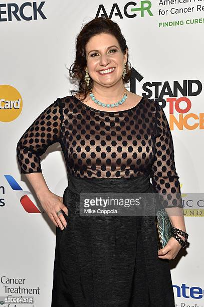 Director of US Oncology Advocacy and Professional Relations at Lilly Cheryl Davis attends Stand Up To Cancer's New York Standing Room Only presented...
