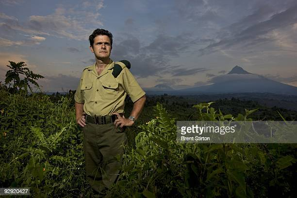 Director of Virunga National Park Emmanuel De Merode photographed at Rumangabo Ranger Headquarters North Kivu Democratic Republic of Congo on...