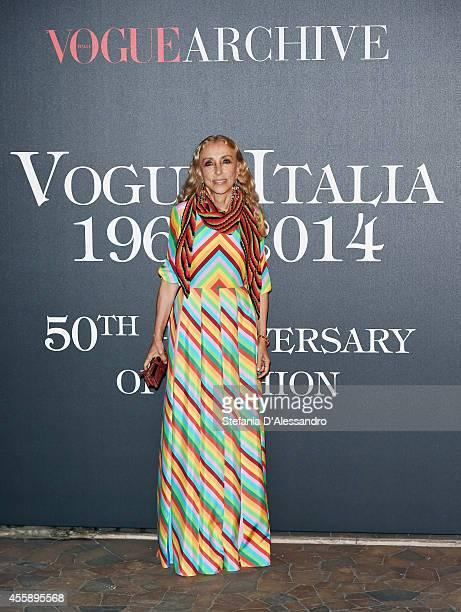 Director of Vogue Italia Franca Sozzani attends Vogue Italia 50th Anniversary Event on September 21 2014 in Milan Italy