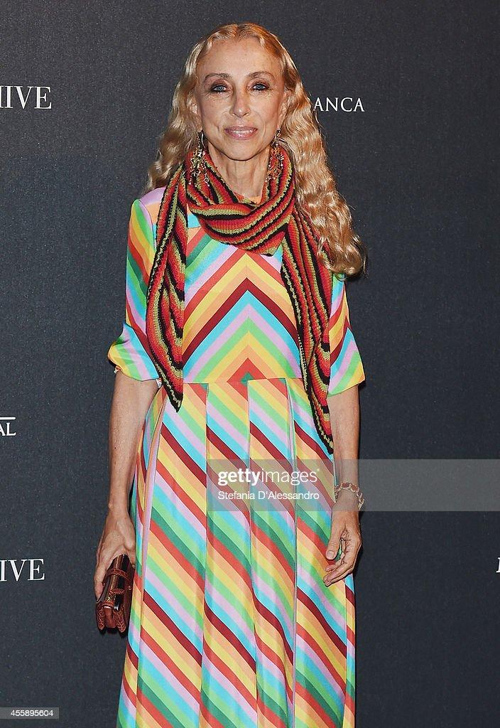Director of Vogue Italia Franca Sozzani attends Vogue Italia 50th Anniversary Event on September 21, 2014 in Milan, Italy.