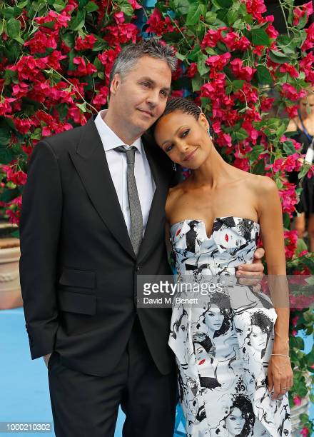 Thandie Newton attends the UK Premiere of 'Mamma Mia Here We Go Again' at the Eventim Apollo on July 16 2018 in London England
