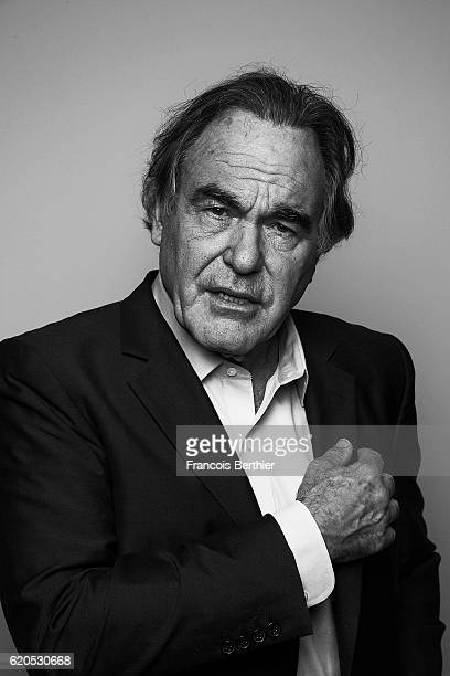 Director Oliver Stone is photographed for Self Assignment on October 10 2016 in Paris France