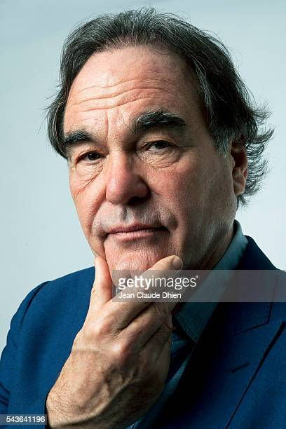 Director Oliver Stone photographed for Sundance Channel in April in Los Angeles California